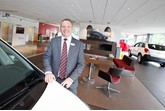 Michael Breen, general manager at Bristol Street Motors Vauxhall Carlisle