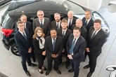 Bristol Street Motors Hyundai Bristol branch manager Terry Thurgood (front right in the blue suit) with his new team