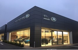 Jardine Motors Group's Lancaster Jaguar Land Rover dealership near Tonbridge, Kent