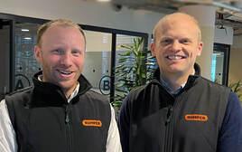 Bumper co-founders CEO James Jackson and CCO Jack Allman