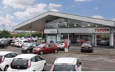 Relocating: Burrows Motors Group's existing Toyota (GB) franchised car dealership