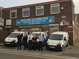 Butlers Automotive sites and staff