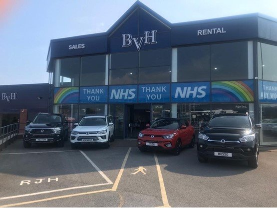BVH Car Sales Ltd's new Ssangyong Motors UK franchised car dealership at the Wirral