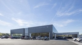 JF & E Hadwin's Kentdale Jaguar Land Rover dealership, developed by Caddick Construction