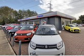 Broad Oak Motor Group's Suzuki showroom in Canterbury