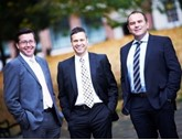 Capex Finance directors (left to right) Julian Percival, Alan Hunt and Warren Badger