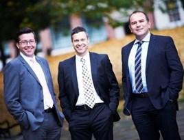 Capex Finance directors (left to right) Julian Percival, Alan Hunt and Warren Badger