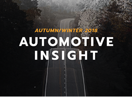 Colliers International's Autumn/Winter 2018 Automotive Insight report