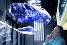 hologram car sales of the future