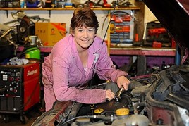 There was no encouragement for me to enter the sector. I believe that many young women looking towards a career in automotive now would face exactly the same challenges that I did 30 years ago Caroline Lake, Caroline's Cars