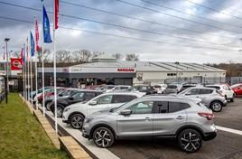 Record turnaround: Cars2's Nissan dealership in Huddersfield
