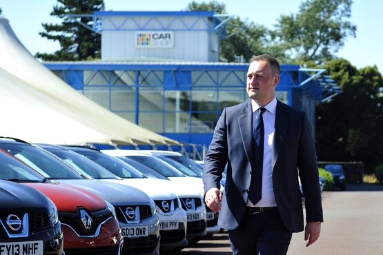 Jonathan Dunkley, CarShop's former chief executive