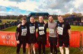 Johnathan Dunkley, chief executive of CarShop, and his team of charity fund-raisers