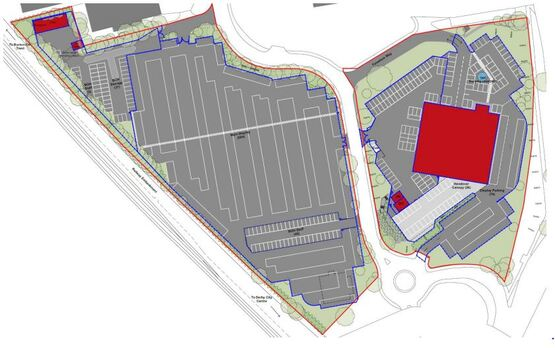CarShop Derby, proposed site map