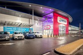 The newest and largest Sytner Group CarShop used car supermarket, in Nottingham