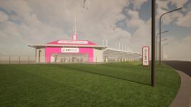 Artist's impression: the proposed CarShop Wolverhampton used car supermarket