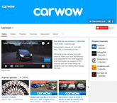 Carwow YouTube channel