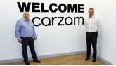 Big Motoring World chief executive Peter Waddell (left) and former Cox Automotive president of international operations John Bailey are set to launch Carzam