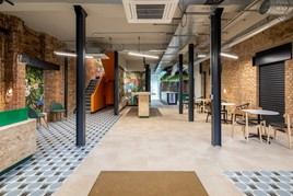 Cazoo's new Connelly Works headquarters in Euston, London