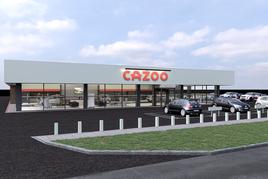 Artist's impression: Cazoo customer centre, Carlisle