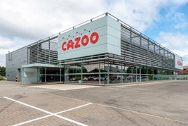 The UK's first Cazoo Customer Centre, on Chester Road, Stretford, Manchester