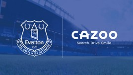 """Cazoo has signed a """"multi-year"""" deal to become Everton FC shirt sponsor"""