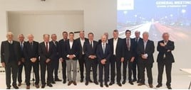 Members of the European Council for Motor Trades and Repairs (CECRA) meet at The Hotel, Brussels
