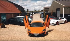 Luxury cars at Kettering-based Centurian Automotive