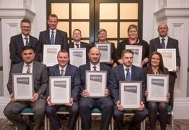 CEO Award winners