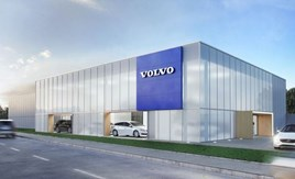 CGI impressions of Looker's Volvo Stockport