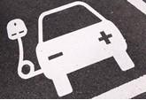 UK EV charge symbol