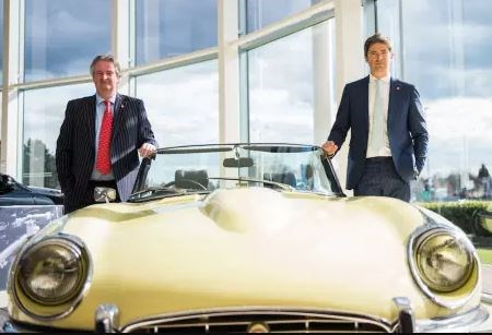 Sturgess Motor Group chairman Chris Sturgess with managing director, Barney Sturgess