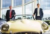 Sturgess Motor Group chairman Chris Sturgess with managing director, Barney Sturgess