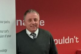 Snows Motor Group business sales executive Chris Rogers.