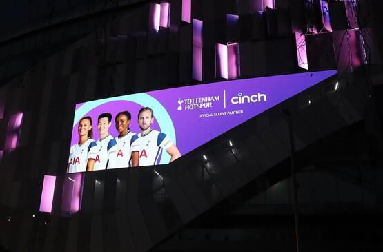 cinch has become Tottenham Hotspur's first shirt sleeve sponsor