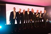 Winners: Citroën UK handed out more than 30 awards at its annual Dealer Excellence event