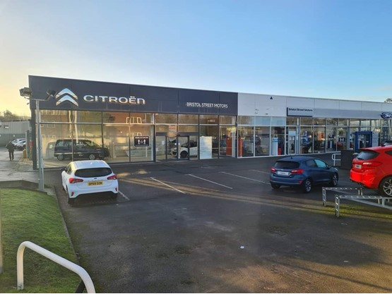 Vertu Motors' new Bristol Street Motors Citroen Macclesfield dealership