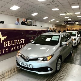 City Auction Group recently celebrated a record-breaking sales at its Belfast remarketing centre