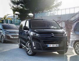 Citroen's nine-seat ë-SpaceTourer MPV electric vehicle (EV)