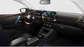 The cabin of Citroen's new C-segment C4