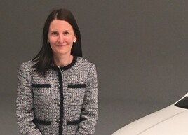 Audi UK head of fleet, Claire English