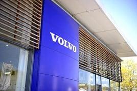 Volvo dealership sign