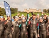 Medal winners: Olympians Alistair and Jonny Brownlee at last year's Brownlee Tri