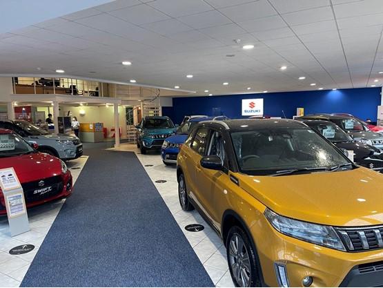 Inside Close Motor Company's new Corby Suzuki dealership