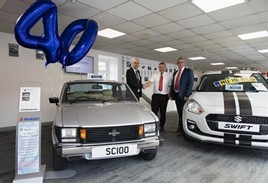 Colin Appleyard celebrates its 40th anniversary year with Suzuki GB