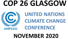 COP26 Glasgow November 2020 logo