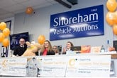 £150,000 raised by Shorehan Vehicle Auctions for Sussex Children's hospice