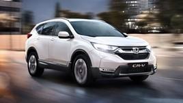 The revised Honda CR-V hybrid SUV