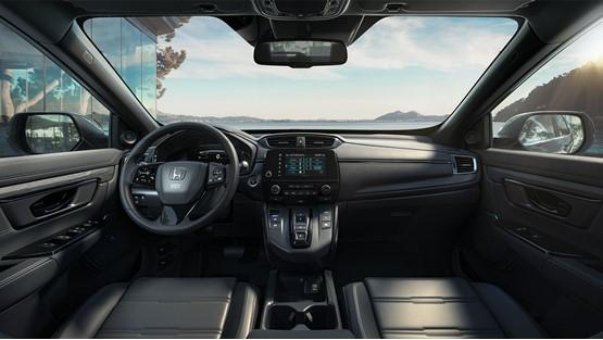 Inside the revised Honda CR-V hybrid SUV