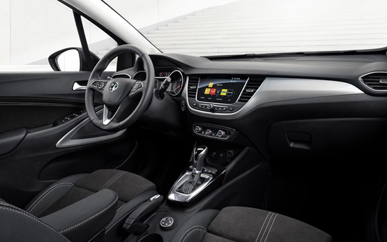 Inside the updated Vauxhall Crossland SUV